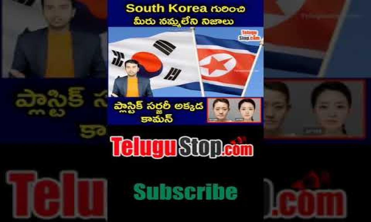 Amazing Facts Abouth South Korea In Telugu Telugu Facts -Telugu Trending Viral Videos-Telugu Tollywood Photo Image-TeluguStop.com