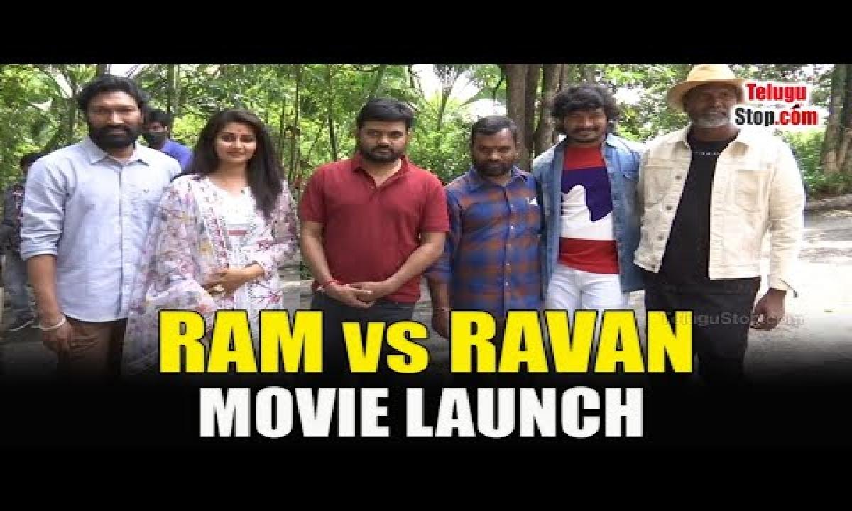 Ram Vs Ravan Movie Shooting Started   Ram Vs Ravan Movie Opening By Director Maruthi   Telugu Stop-TeluguStop.com