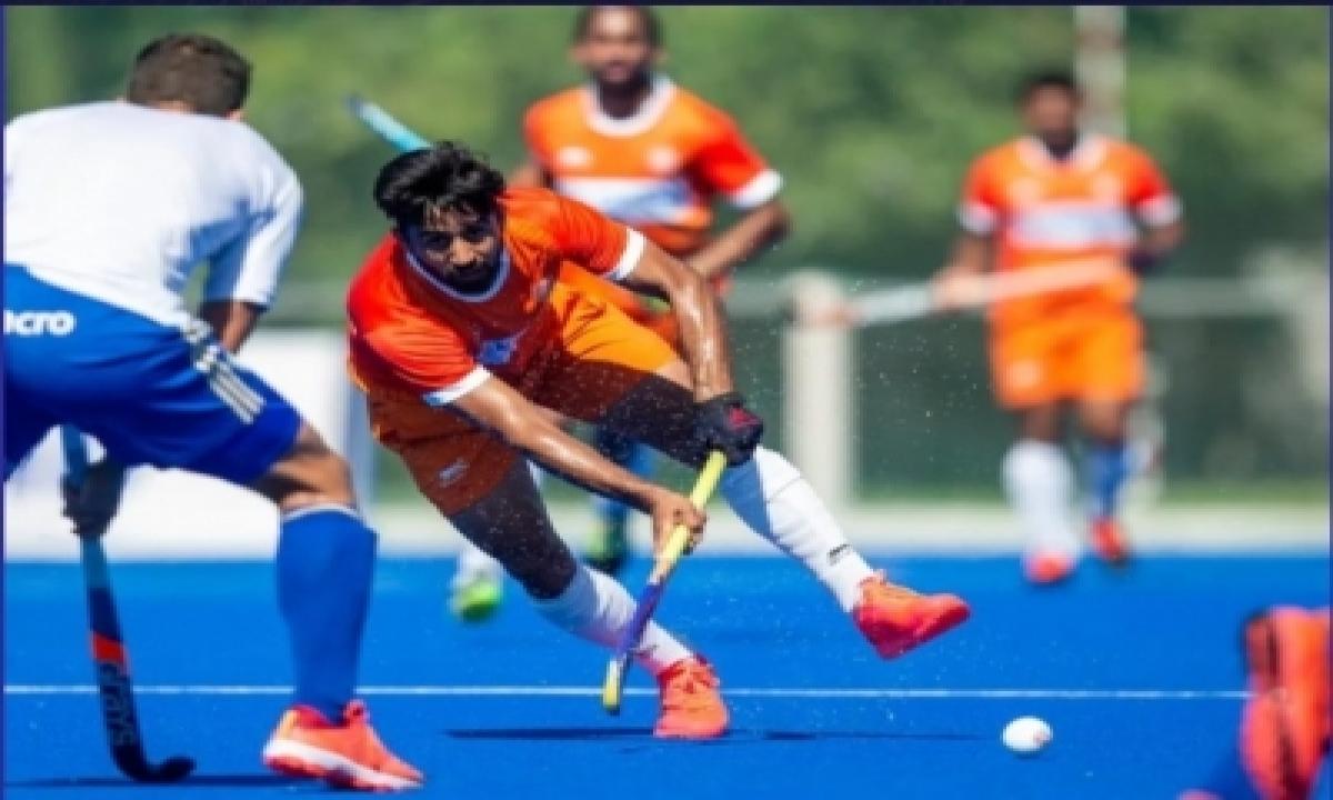 India, Argentina In 4-4 Draw-TeluguStop.com