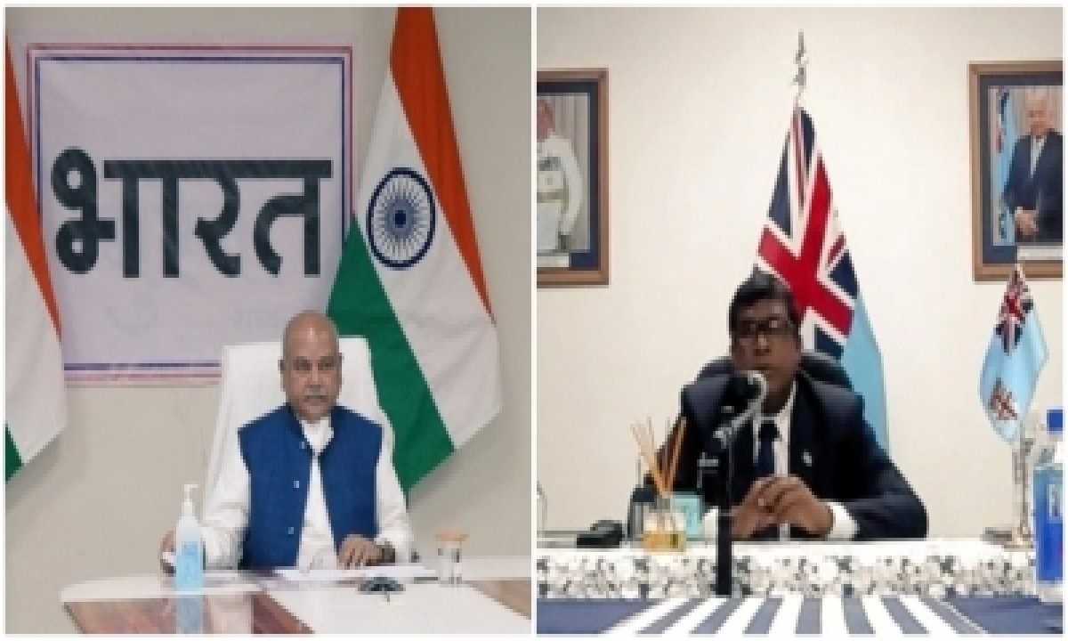 India, Fiji Sign Mou For Cooperation In Agriculture, Allied Sectors-TeluguStop.com