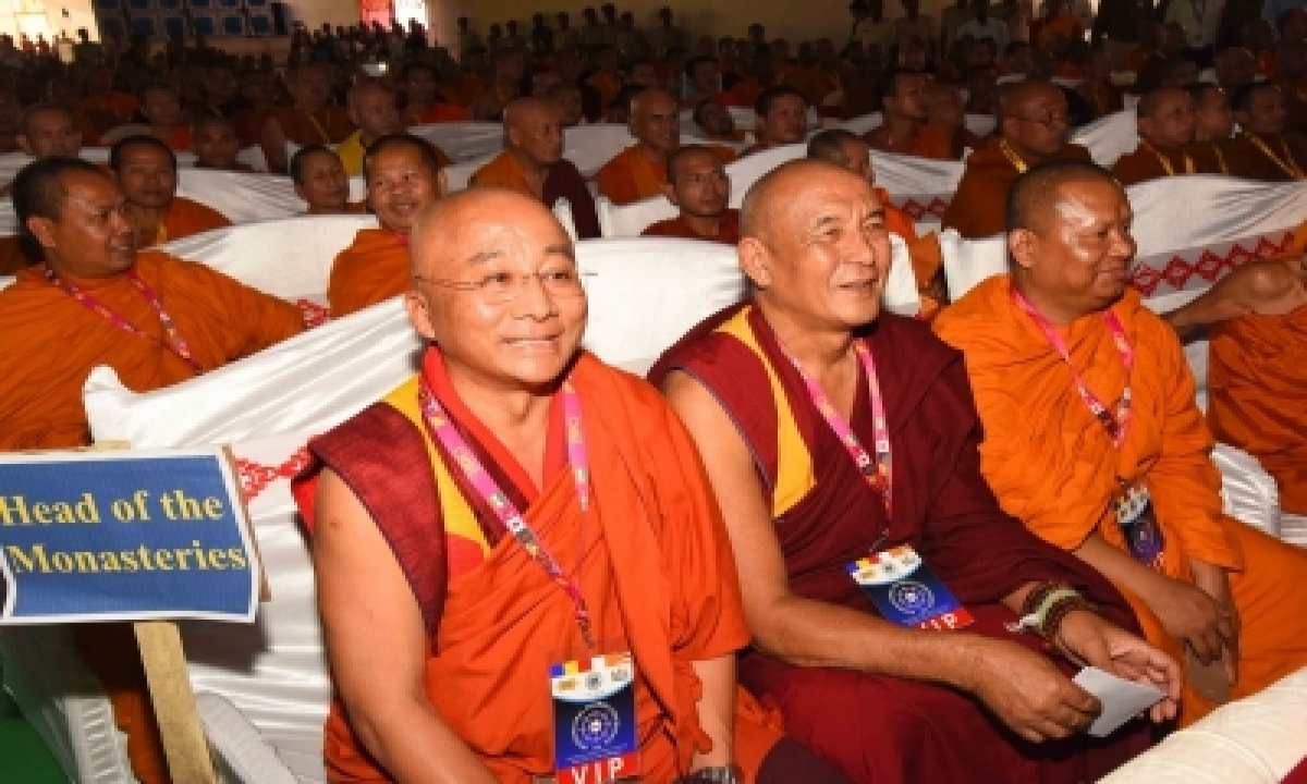 India Will Host First 'global Buddhist Conference' In November-TeluguStop.com