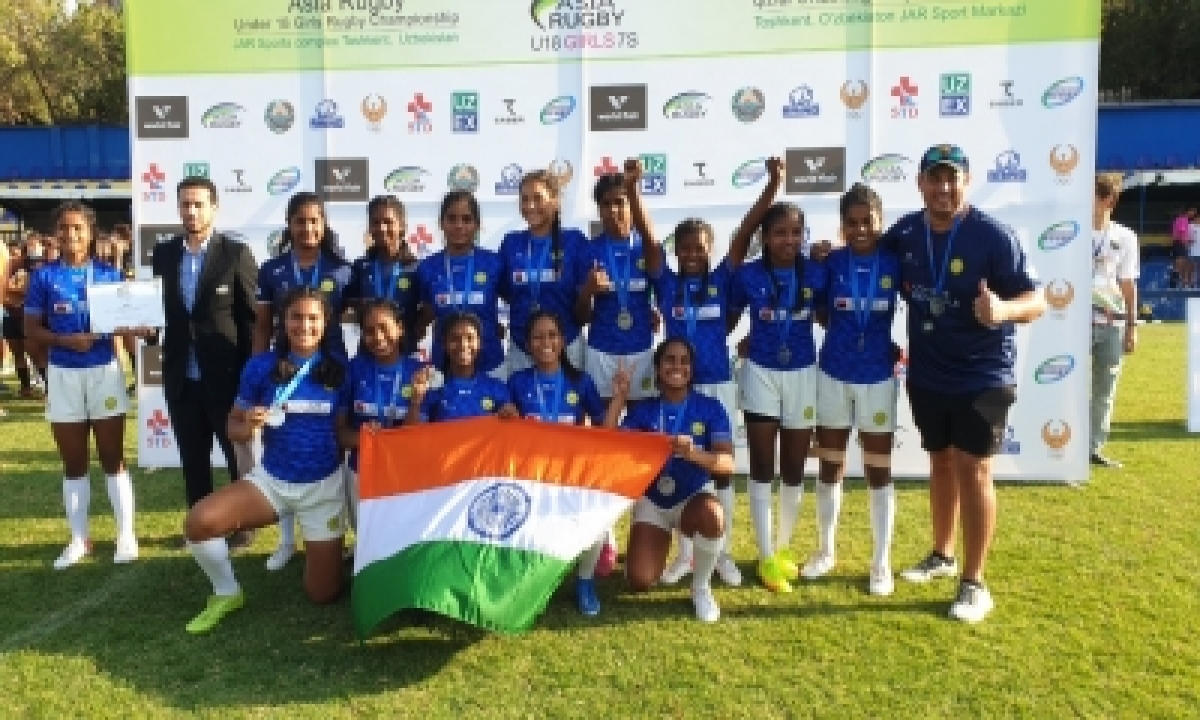 India Win Silver In Asian U18 Girls' Rugby Sevens Championship-TeluguStop.com