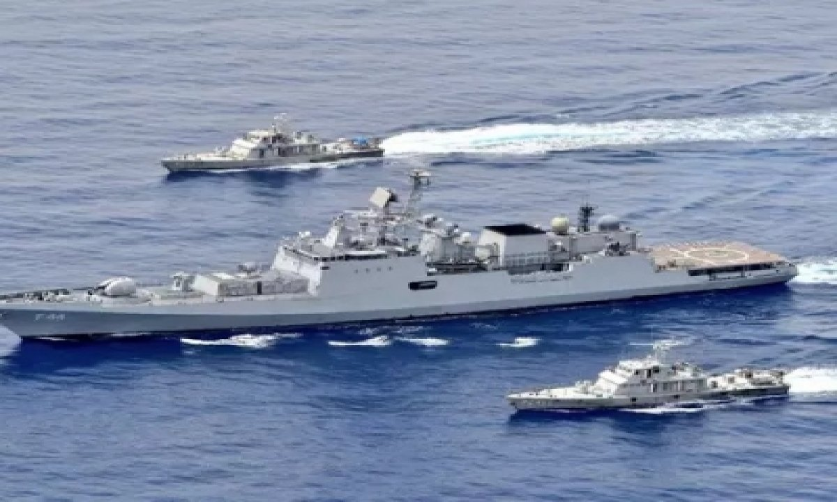 Indian Navy Holds Exercises In The Red Sea, Not Far From The Suez Canal-TeluguStop.com