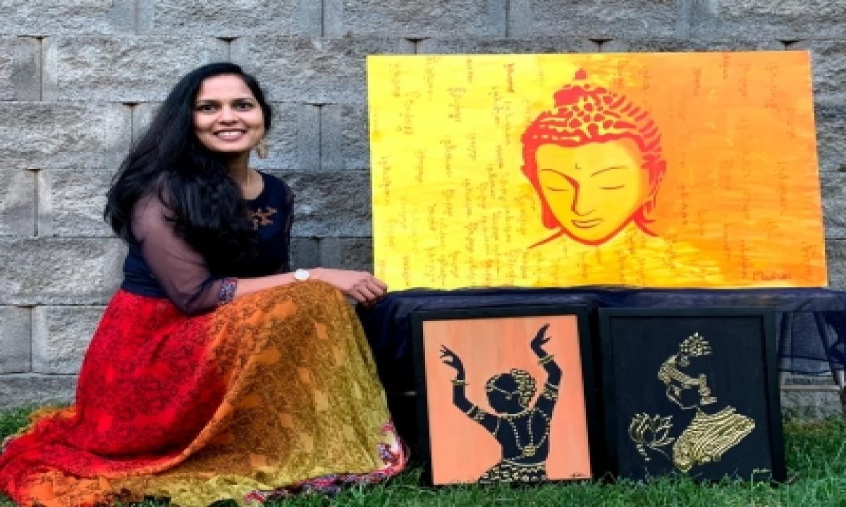 Indian-origin Artist Madhuri To Display Works In Milan-TeluguStop.com