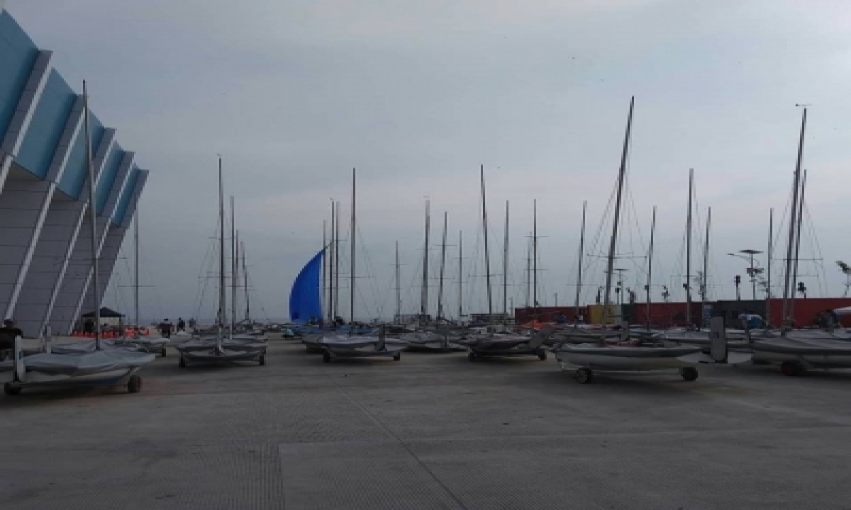 Indian Sailing Team Tuning Up The New Boats In Tokyo-TeluguStop.com