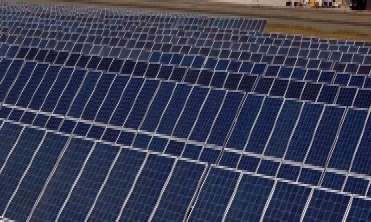 India's Biggest Floating Solar Power Plant Coming Up In T'gana-TeluguStop.com