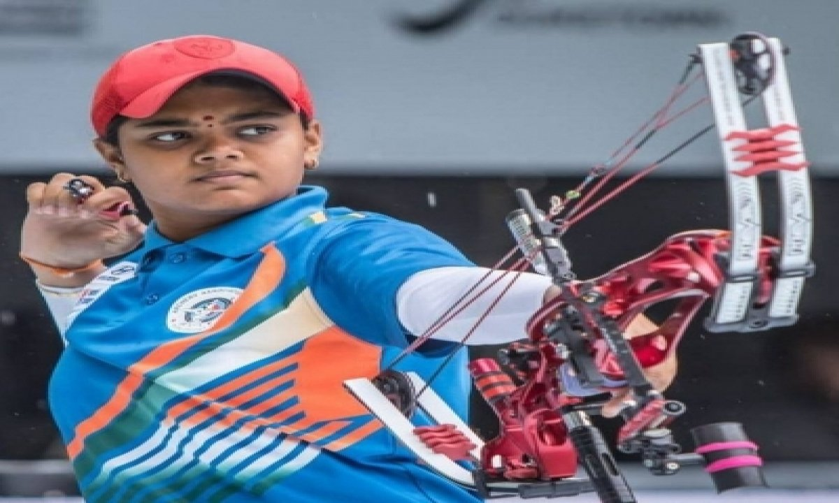 India's Jyothi Storms Into The Final In World Archery Championships-TeluguStop.com