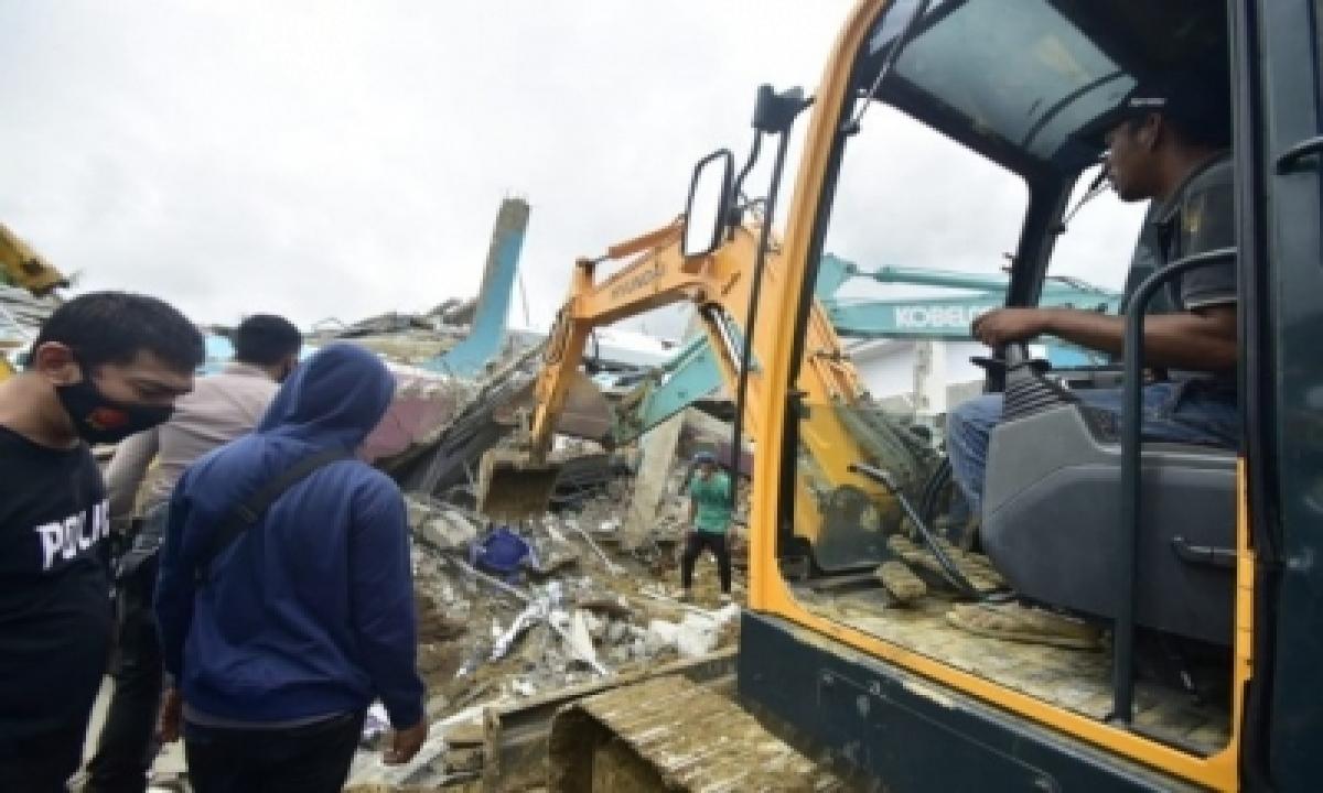 Indonesia Earthquake Death Toll Climbs To 56-TeluguStop.com