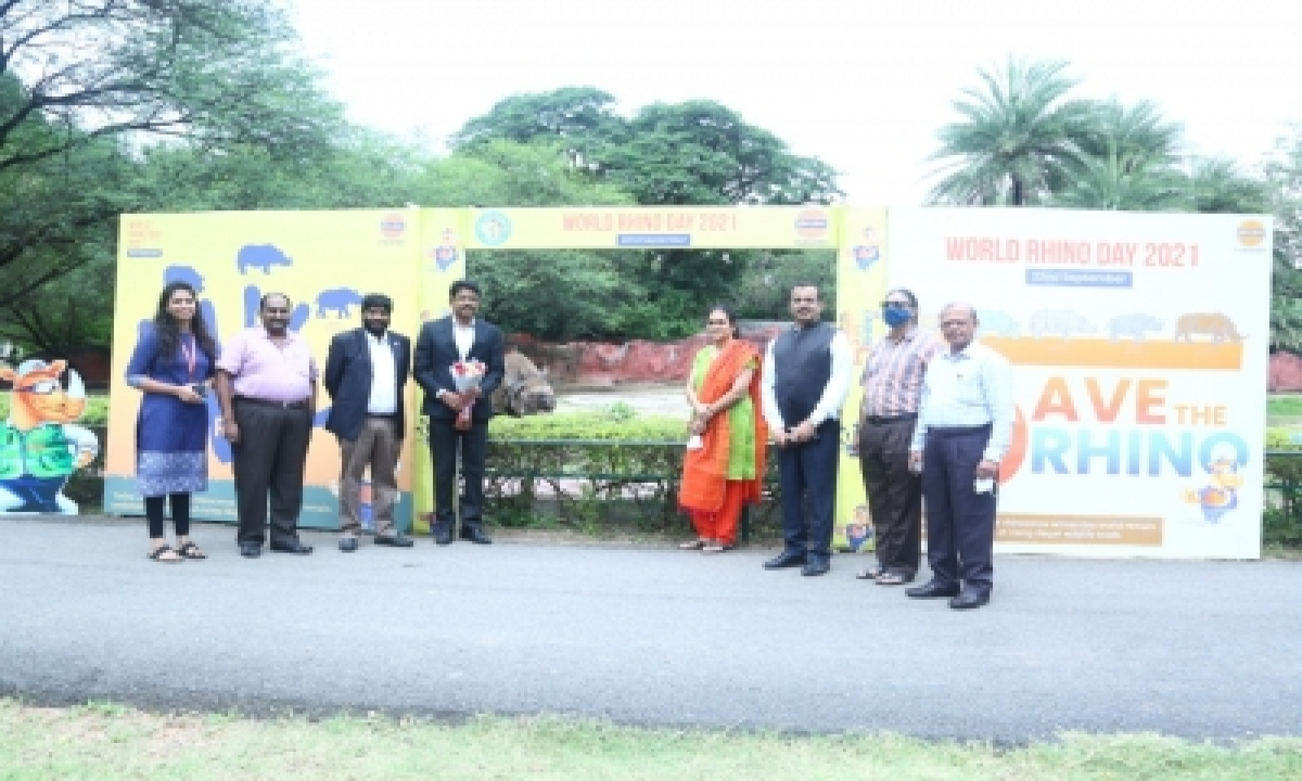 IOC Offers To Adopt Rhinoceros In Hyderabad Zoo-Environment/Wildlife News-Telugu Tollywood Photo Image-TeluguStop.com