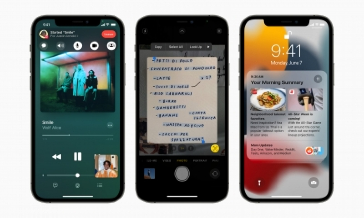 Iphone Users Will Receive Ios 15 Update On Sep 20-TeluguStop.com
