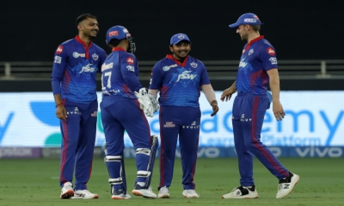Ipl 2021: Delhi Bowlers Combine Forces To Keep Hyderabad At 134/9-TeluguStop.com