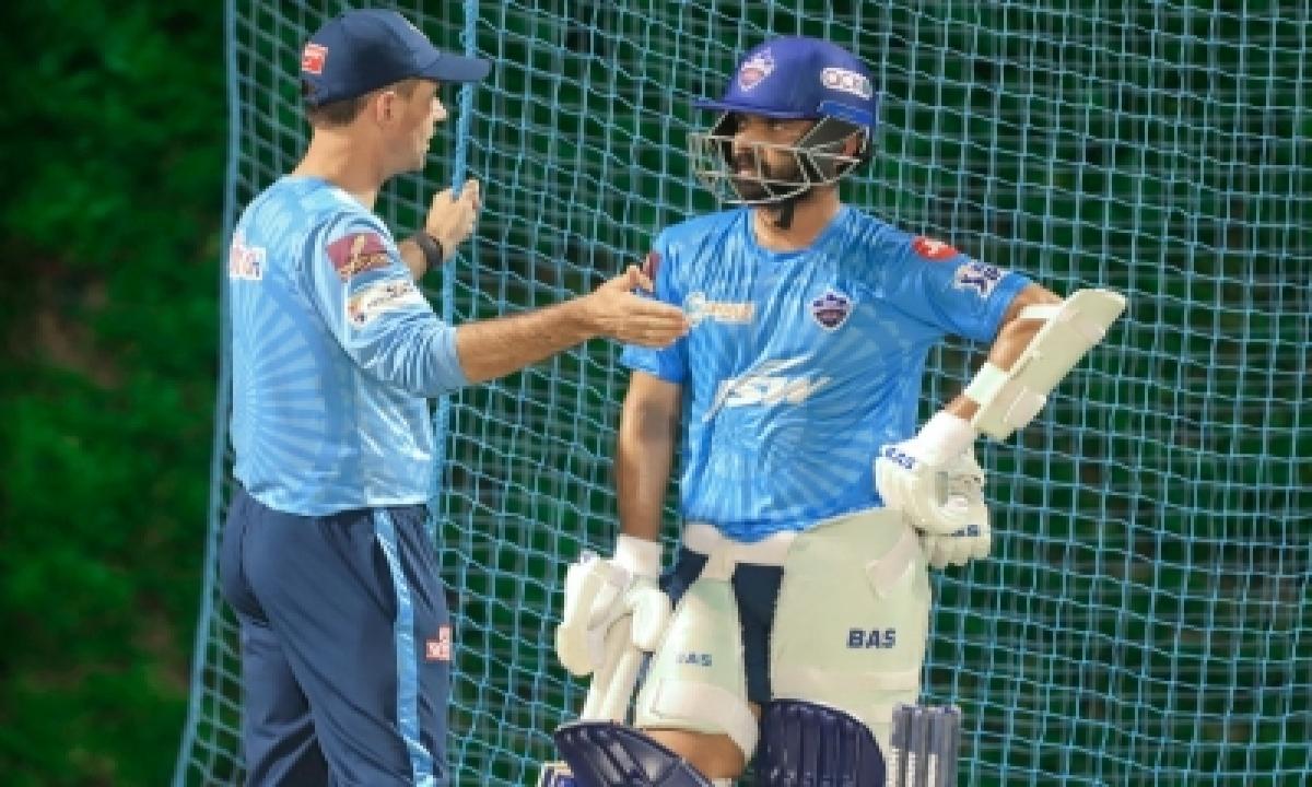 Ipl 2021: Delhi Capitals' India Test Stars Start Practice-TeluguStop.com