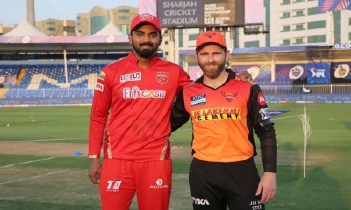 Ipl 2021: Hyderabad Elect To Bowl First Against Punjab-TeluguStop.com