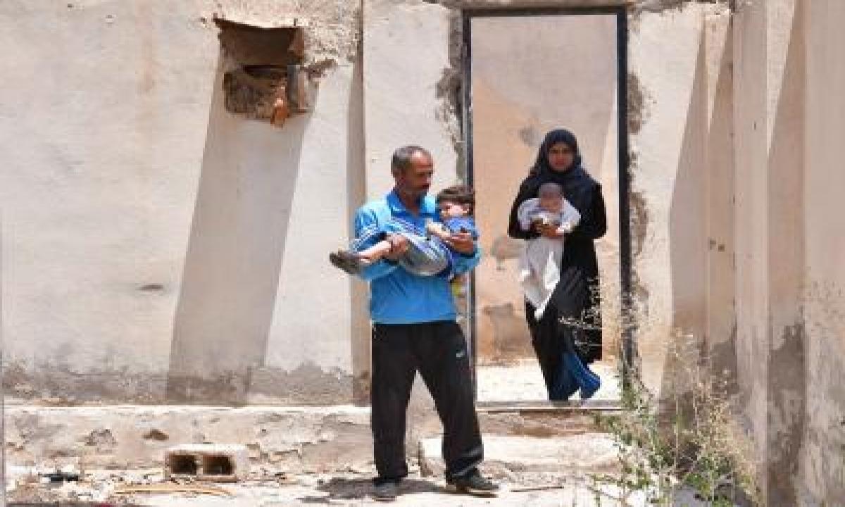 Is Frees 46 People In Syrian Desert-TeluguStop.com