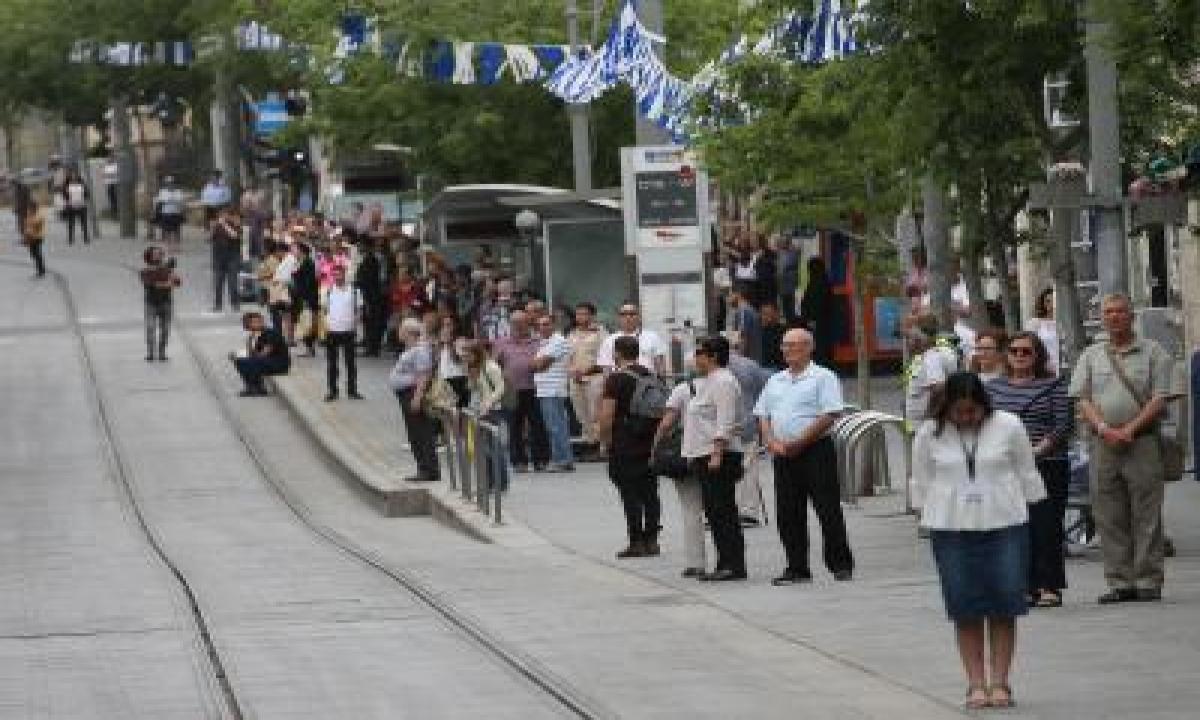 Israel Remembers Holocaust Victims-TeluguStop.com
