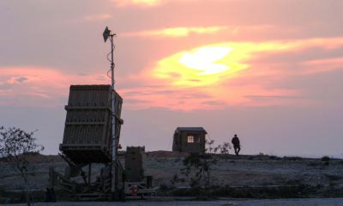Israel's Aerial Defence System Shoots Down Rocket From Gaza-TeluguStop.com