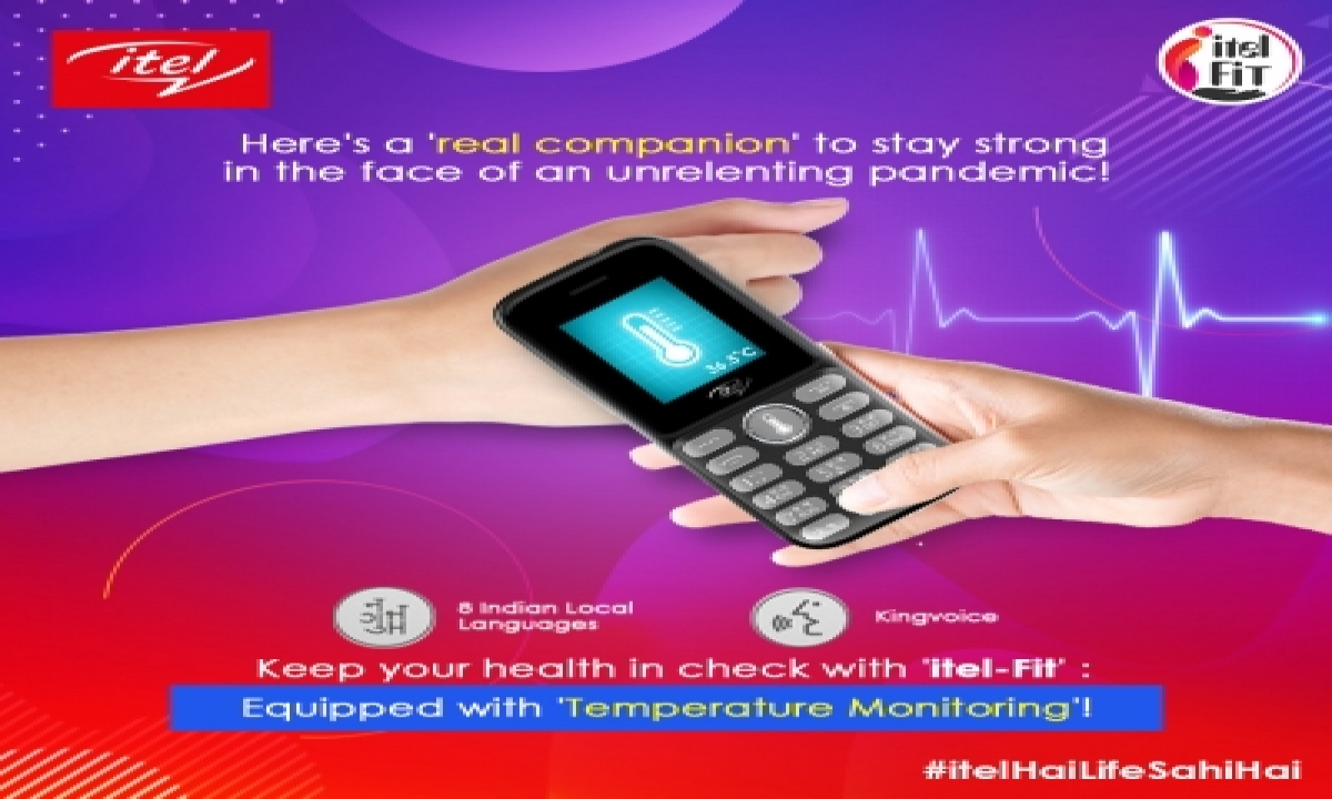 Itel Enabling Consumers To Fight Covid-19 With It2192t Thermo Edition-TeluguStop.com