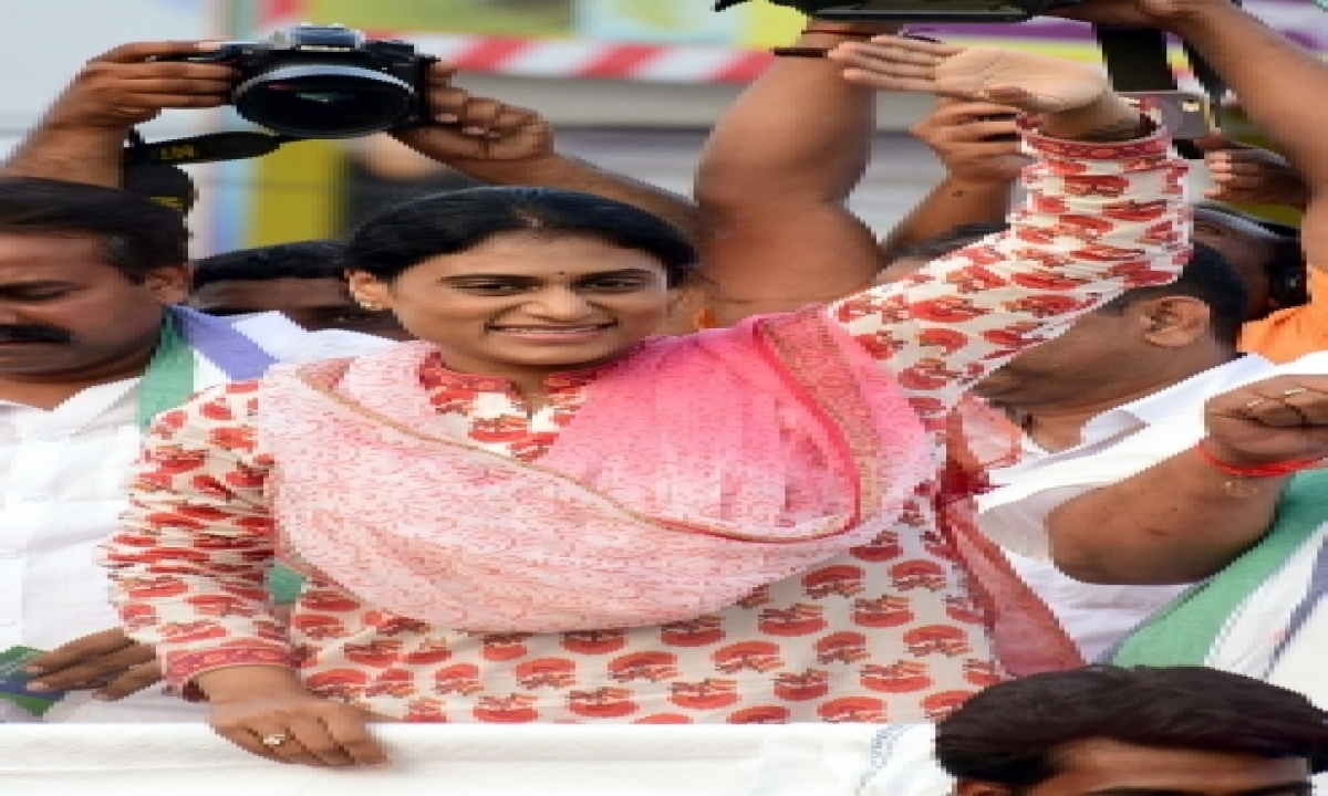 Jagan's Sister Sharmila To Launch Telangana Party On July 8-TeluguStop.com