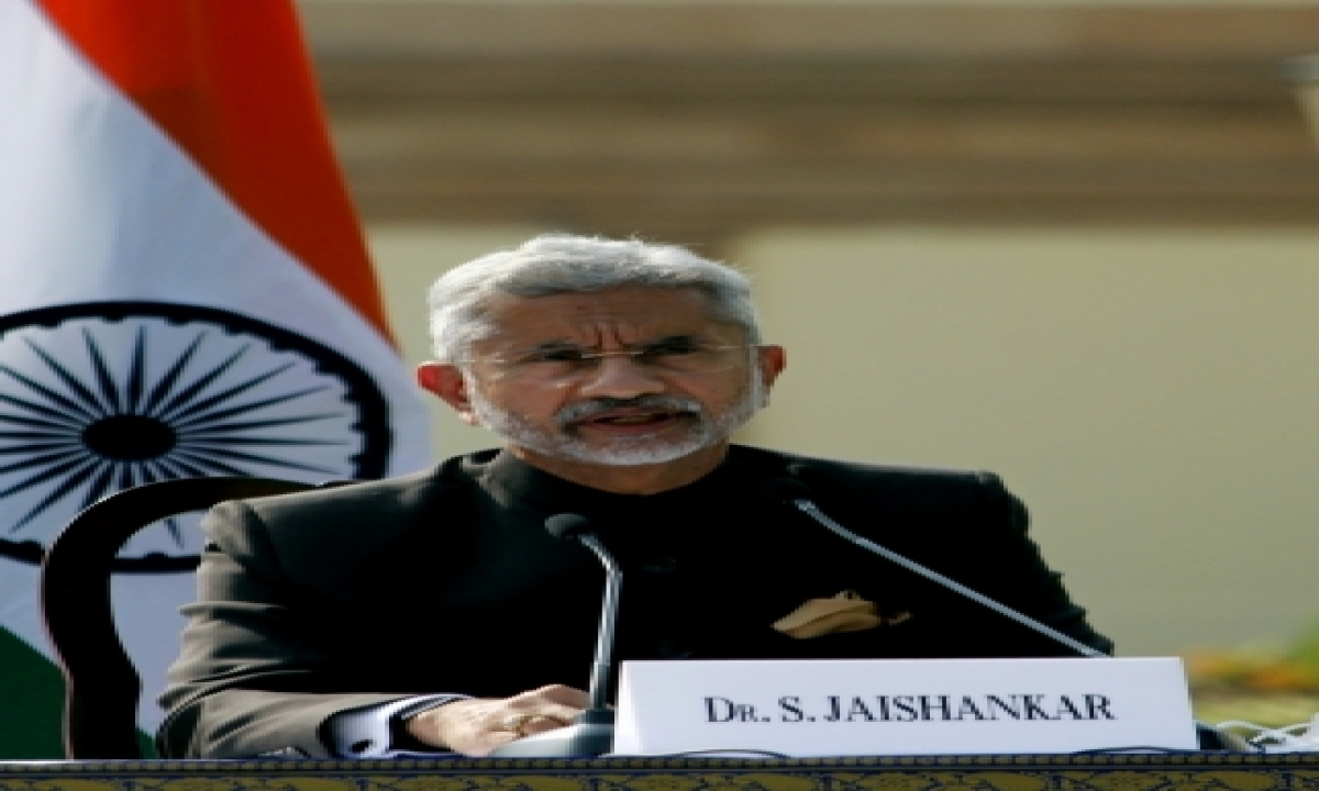 TeluguStop.com - Jaishankar Says That Indian Foreign Policy Is About A Multi-polar World