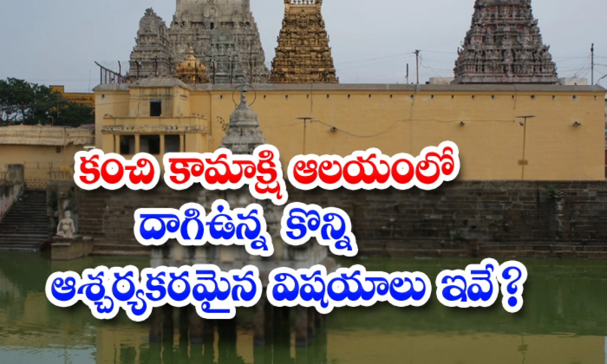 Significance And Importance Of Siva Kanchi Kamakshi Temple-కంచి కామాక్షి ఆలయంలో దాగిఉన్న కొన్ని ఆశ్చర్యకరమైన విషయాలు ఇవే-Latest News - Telugu-Telugu Tollywood Photo Image-TeluguStop.com