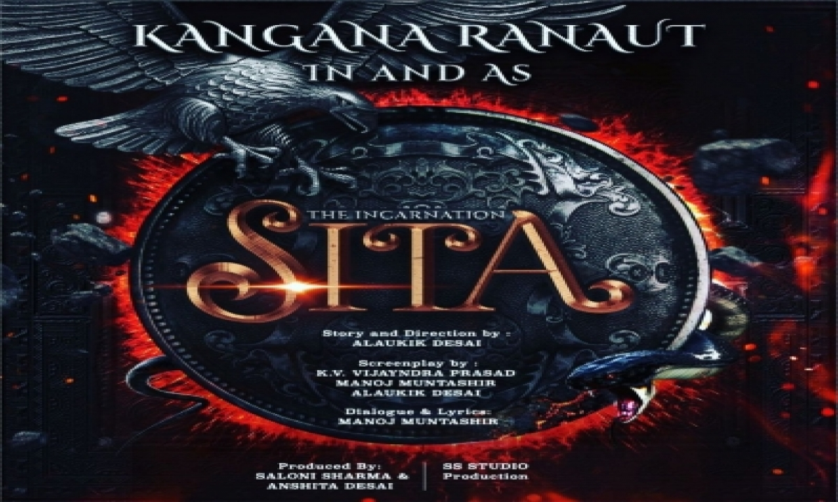 Kangana Ranaut To Play Title Role In Her Next 'the Incarnation – Sita'-TeluguStop.com