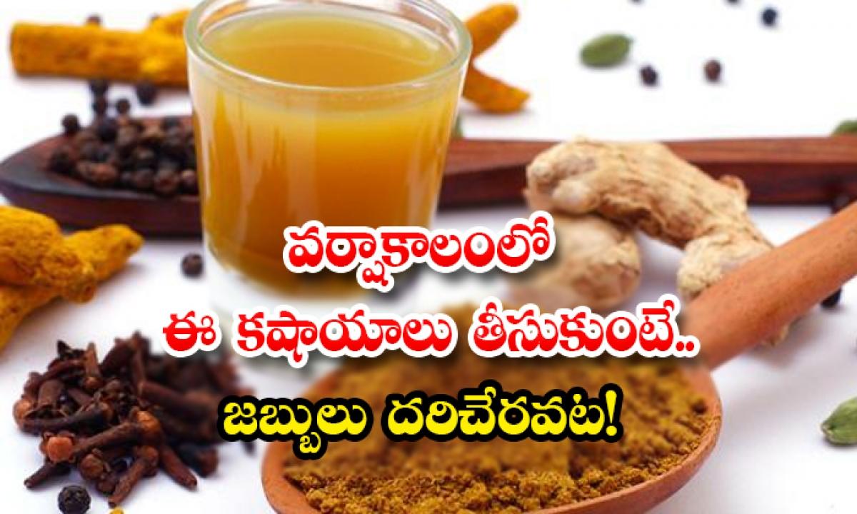 Kashayam To Avoid Seasonal Diseases-వర్షాకాలంలో ఈ కషాయాలు తీసుకుంటే..జబ్బులు దరిచేరవట-Latest News - Telugu-Telugu Tollywood Photo Image-TeluguStop.com