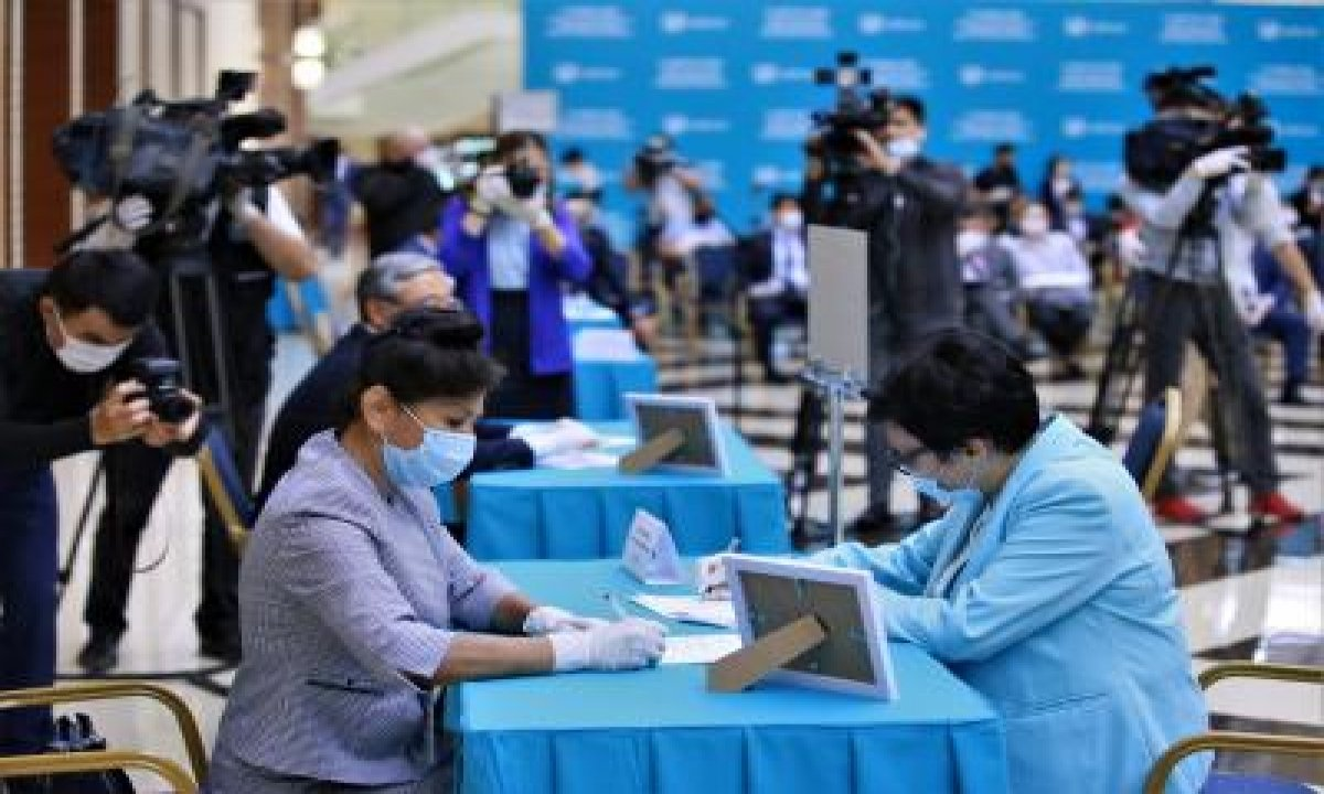 Kazakh Ruling Party Wins Parliamentary Election-TeluguStop.com
