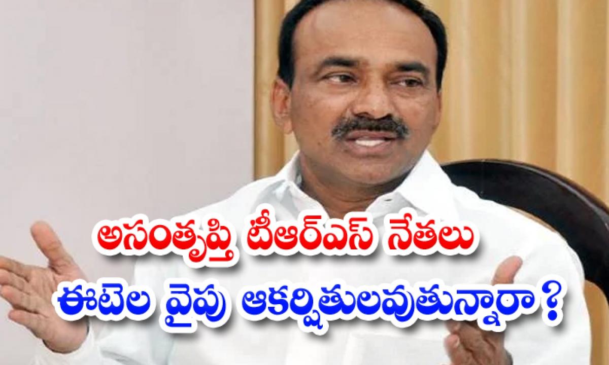 Are Disgruntled Trs Leaders Attracted To Etela-అసంతృప్తి టీఆర్ఎస్ నేతలు ఈటెల వైపు ఆకర్షితులవుతున్నారా-Latest News - Telugu-Telugu Tollywood Photo Image-TeluguStop.com