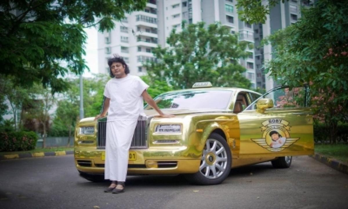 Kerala Entrepreneur Converts Rolls Royce Into Luxury Cab-TeluguStop.com