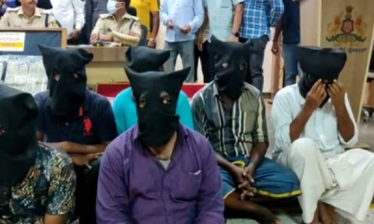 K'taka Police Nab Family Of 11 Inter-state Robbers From Andhra, TN-Crime News English-Telugu Tollywood Photo Image-TeluguStop.com