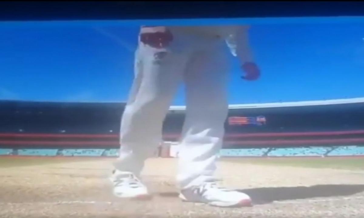 Kuch Kaam Na Aaya: Sehwag After Smith Scuffed Batting Crease-TeluguStop.com