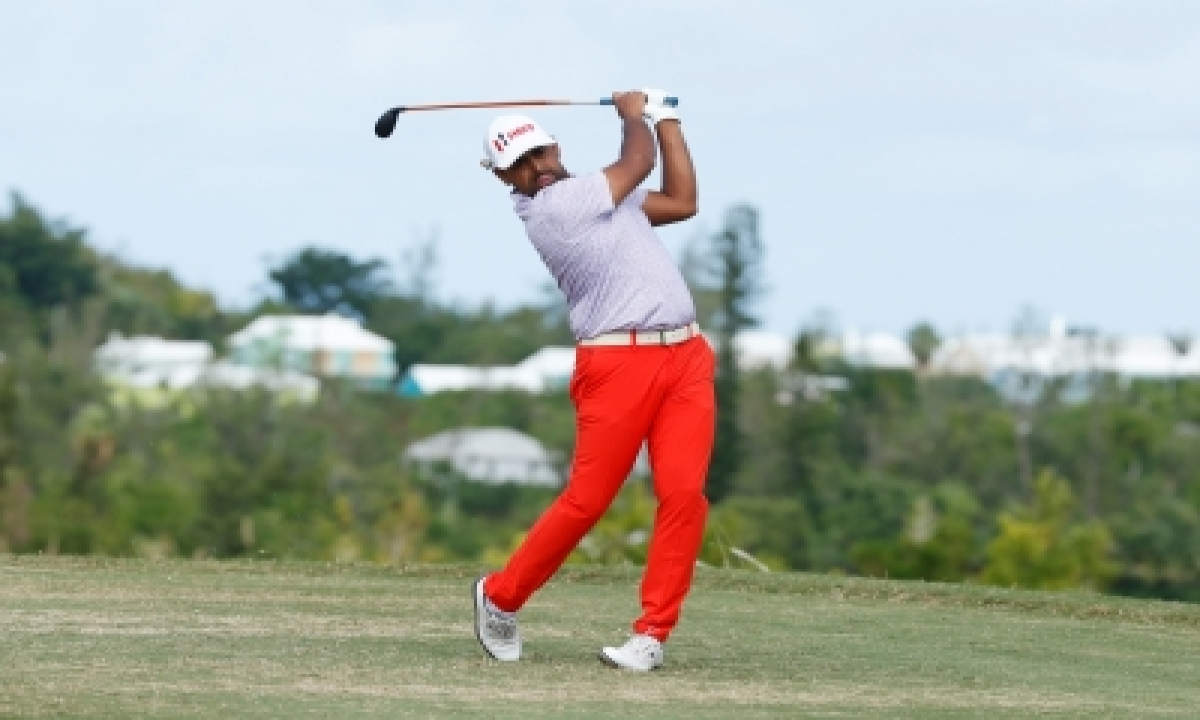 TeluguStop.com - Lahiri Off To Fine Start At The American Express Golf