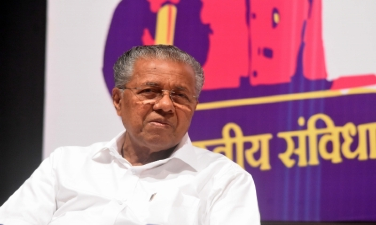 Left Does Not Need A Pr Agency: Vijayan-TeluguStop.com