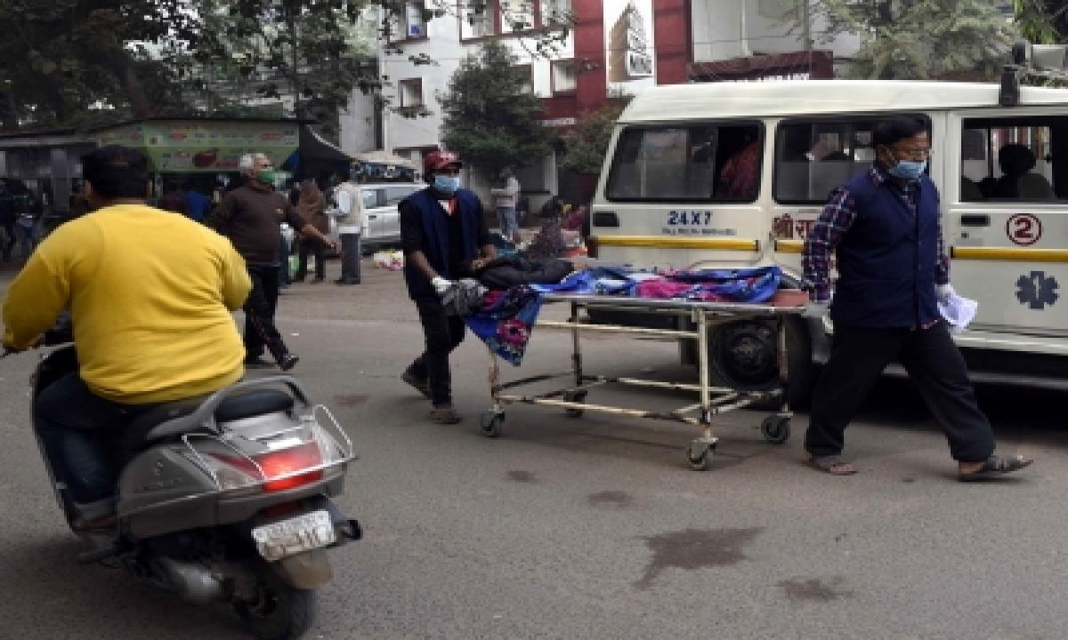 Living Covid Patient Declared Dead In Bihar-TeluguStop.com