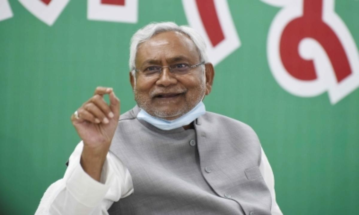 Ljp Sole Mla Who Promised To Send Nitish Kumar In Jail, Joins Jd-u-TeluguStop.com
