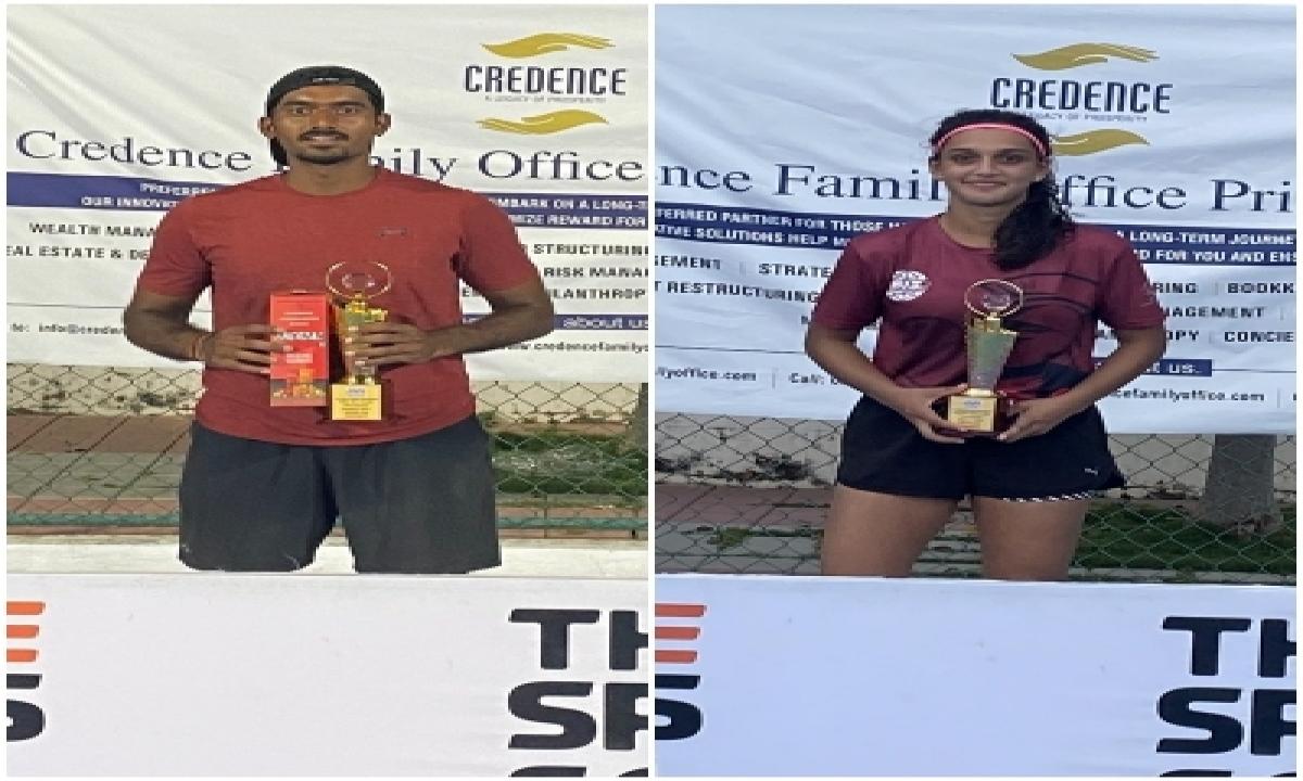 TeluguStop.com - Local Favourites Dev And Soha Win Aita C'ship Titles