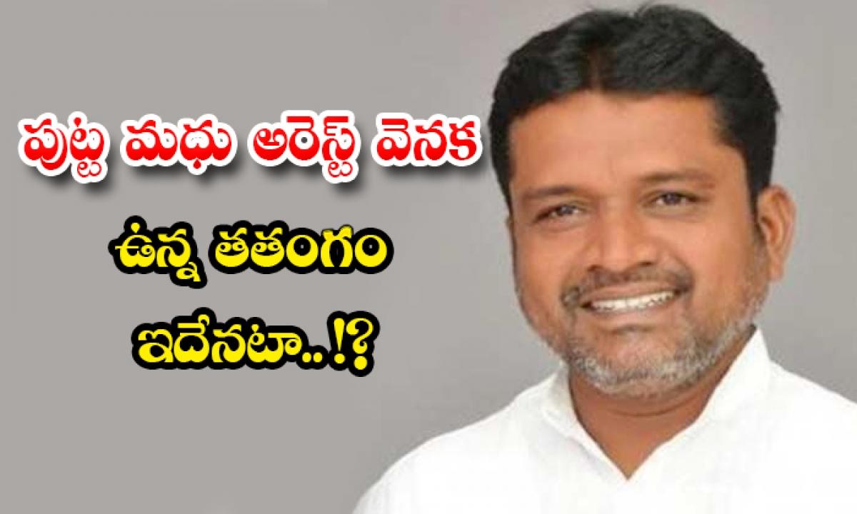 Manthani Zp Chairman Putta Madhu Arrest Reason-పుట్ట మధు అరెస్ట్ వెనక ఉన్న తతంగం ఇదేనటా.. -Breaking/Featured News Slide-Telugu Tollywood Photo Image-TeluguStop.com