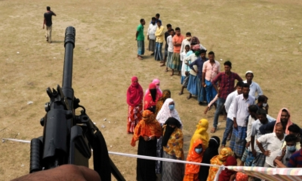Marred By Violence, Bengal Sees 76% Turnout In 4th Phase Of Polls (ld)-TeluguStop.com