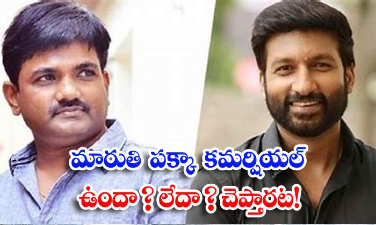 Maruthi Pakka Commercial Movie Shooting Update-TeluguStop.com