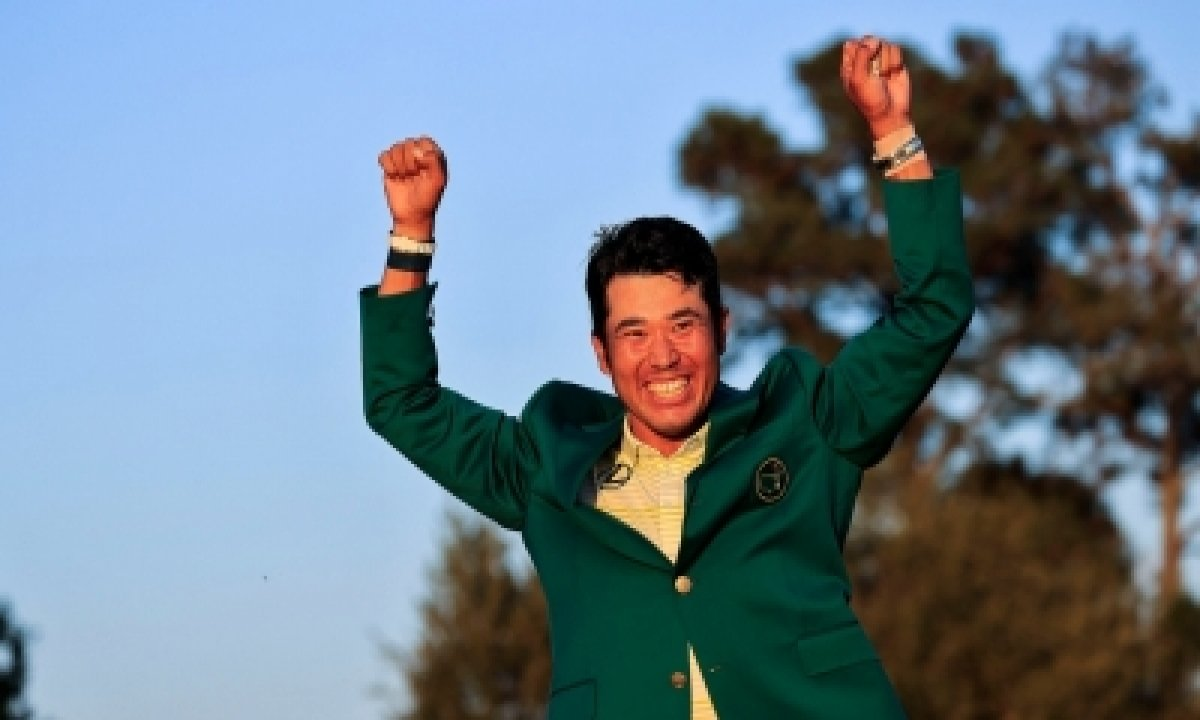 Matsuyama Wins Masters, 1st Japanese To Claim Major Win-TeluguStop.com