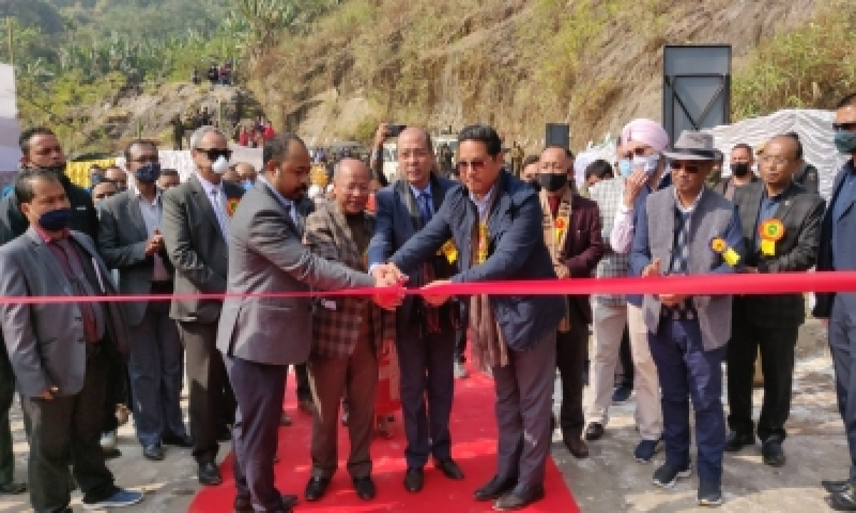 TeluguStop.com - Meghalaya Cm Inaugurates India's Longest Steel Arch Bridge