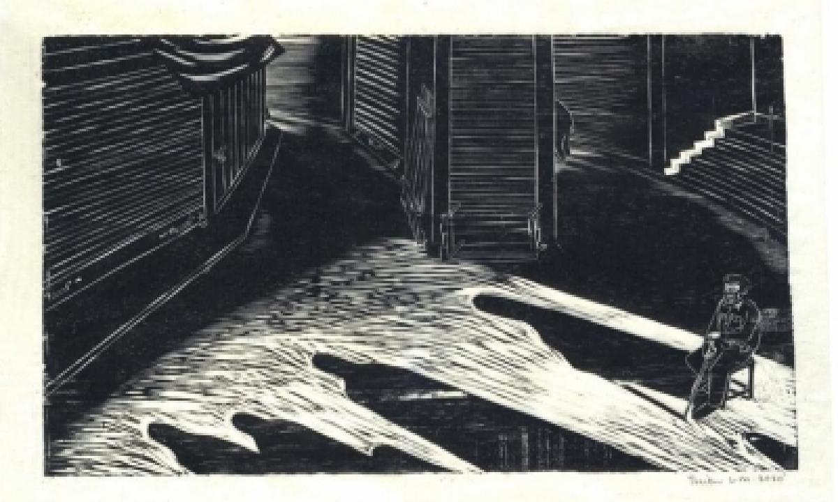 Meghalayan Village Life, Comes Alive On Triebor Mawlong's Woodcuts-TeluguStop.com
