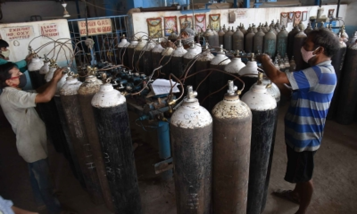 Meil To Supply 600 Free Oxygen Cylinders To Hospitals In Telangana, Andhra-TeluguStop.com