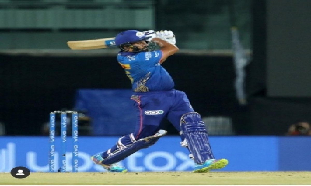 Mi's Rohit Sharma Makes A Statement With 'save The Corals' Art-TeluguStop.com