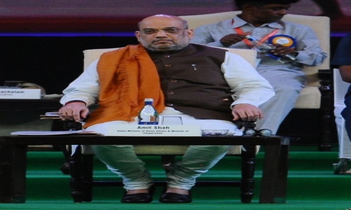 Modi Govt Committed To Development Of Maoist Affected Areas: Shah-TeluguStop.com