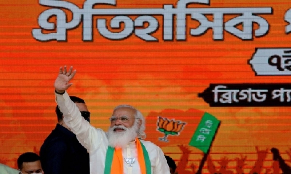 Modi Reaches Out To Weaker Sections At Bengal Rally-TeluguStop.com