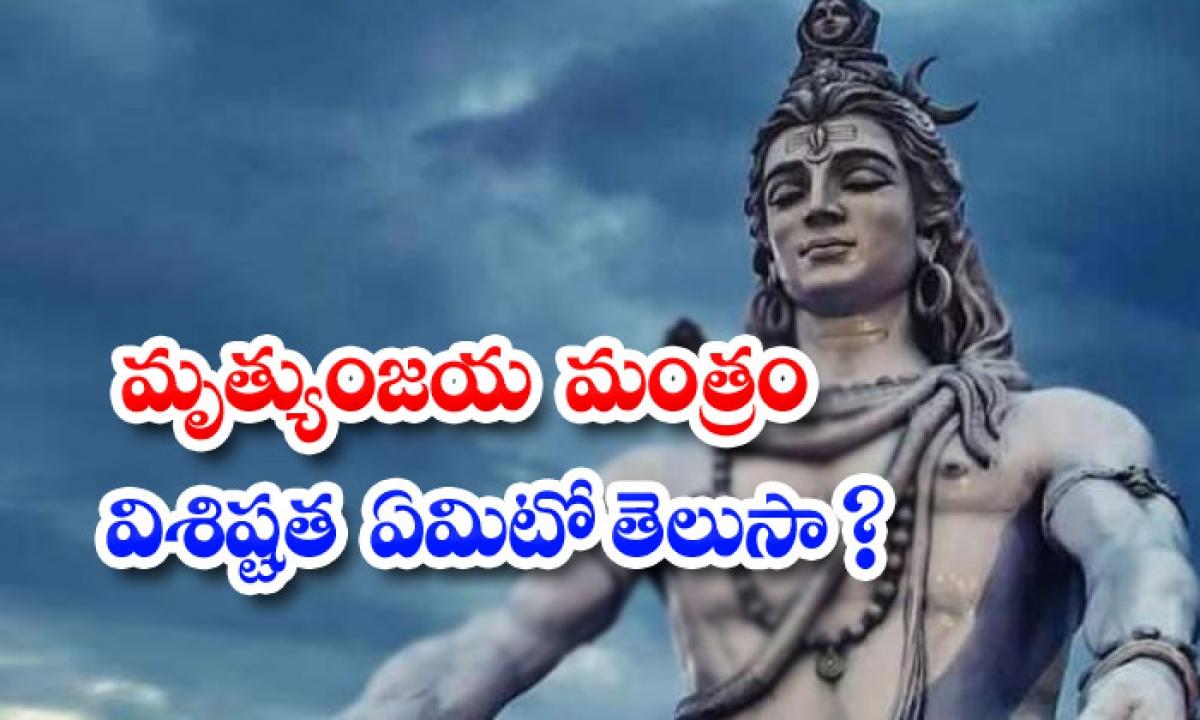Why The Mahamrityunjaya Mantra Is Chanted-TeluguStop.com