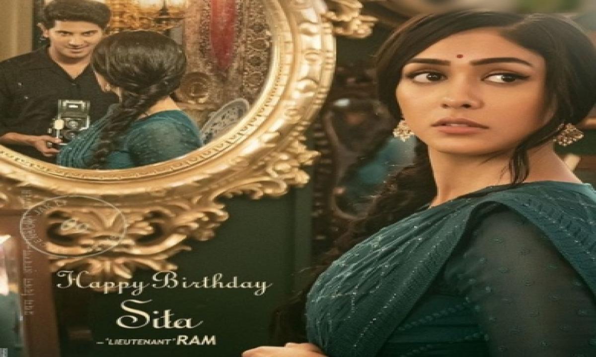 Mrunal Thakur's First Look In Dulquer Salmaan's Next Revealed-TeluguStop.com