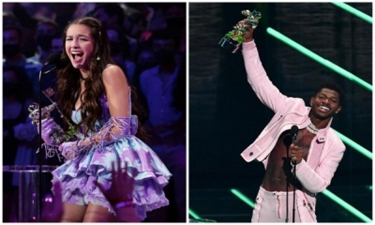 Mtv Vmas 2021: Bieber, Lil Nas, Rodrigo, Bts Big Winners-TeluguStop.com