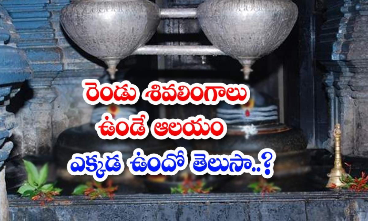 Unknown Facts About Mukteshwara Swami Temple-రెండు శివలింగాలు ఉండే ఆలయం ఎక్కడ ఉందో తెలుసా..-Latest News - Telugu-Telugu Tollywood Photo Image-TeluguStop.com